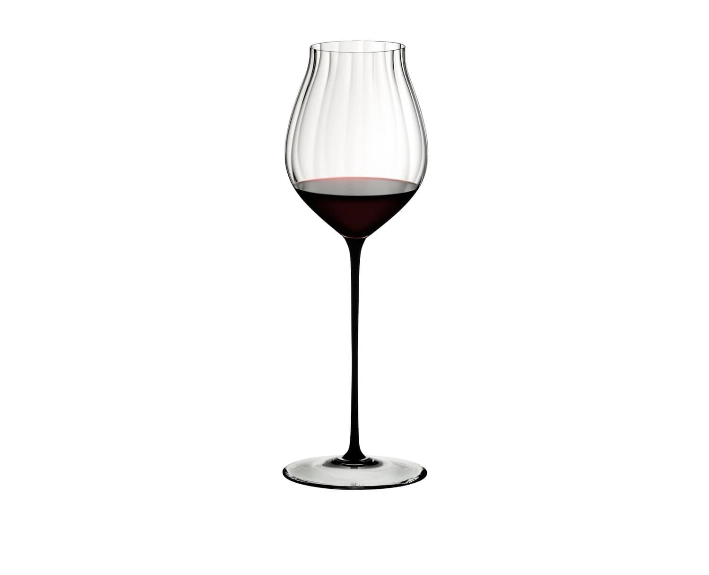 Pahar pentru vin, din cristal High Performance Pinot Noir Negru, 830 ml, Riedel imagine