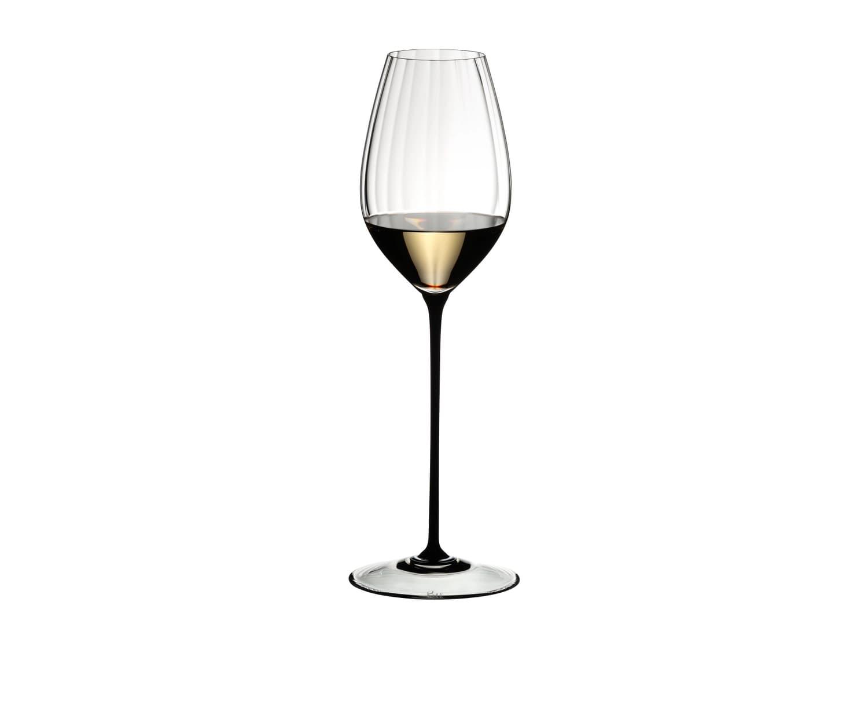 Pahar pentru vin, din cristal High Performance Riesling Negru, 623 ml, Riedel imagine