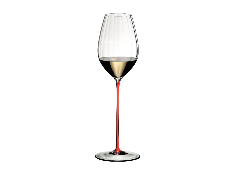 Pahar pentru vin, din cristal High Performance Riesling Rosu, 623 ml, Riedel imagine