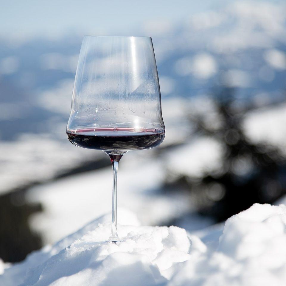Pahar pentru vin, din cristal Winewings Cabernet Sauvignon, 1000 ml, Riedel poza