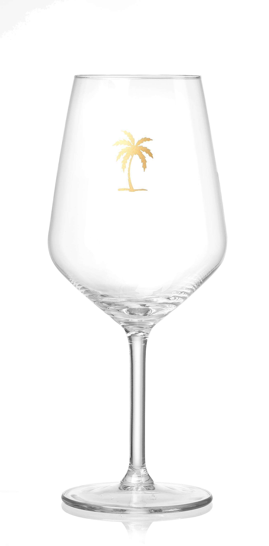Set pahare vin Miami Palme Flirt 530 ml 2 piese