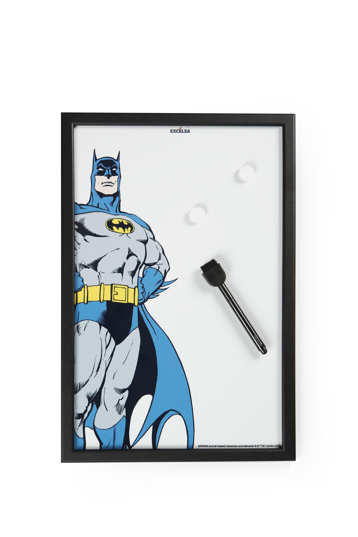 Memo Board cu rama din lemn, l30xH45 cm, Superhero Batman