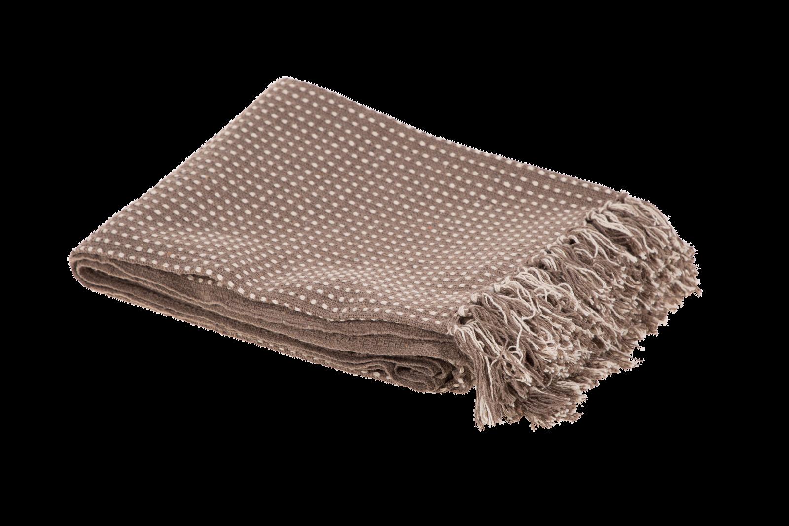 Patura Atmosphere Cotton Coffee Brown 125 x 150 cm