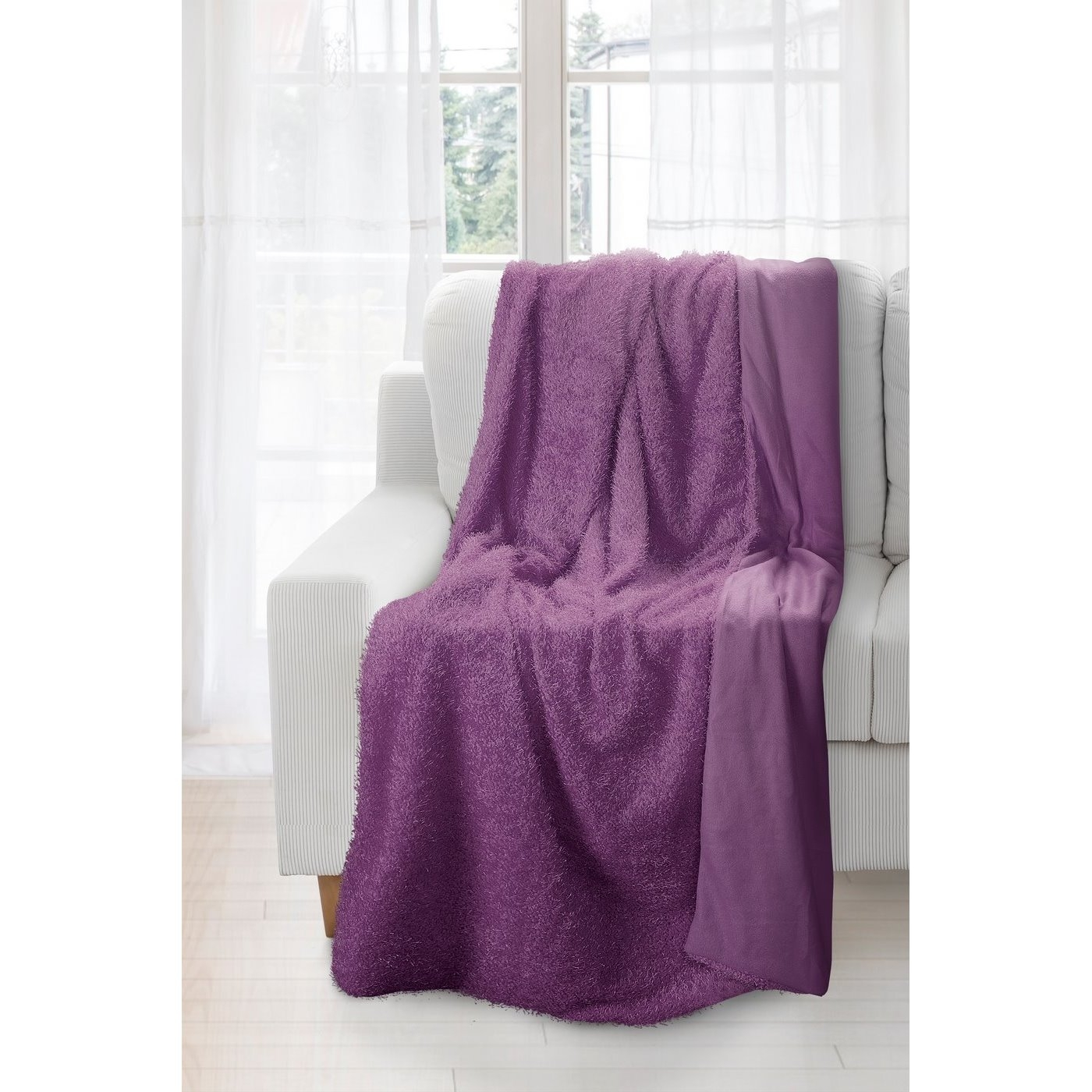Patura Borys Purple 150 x 200 cm