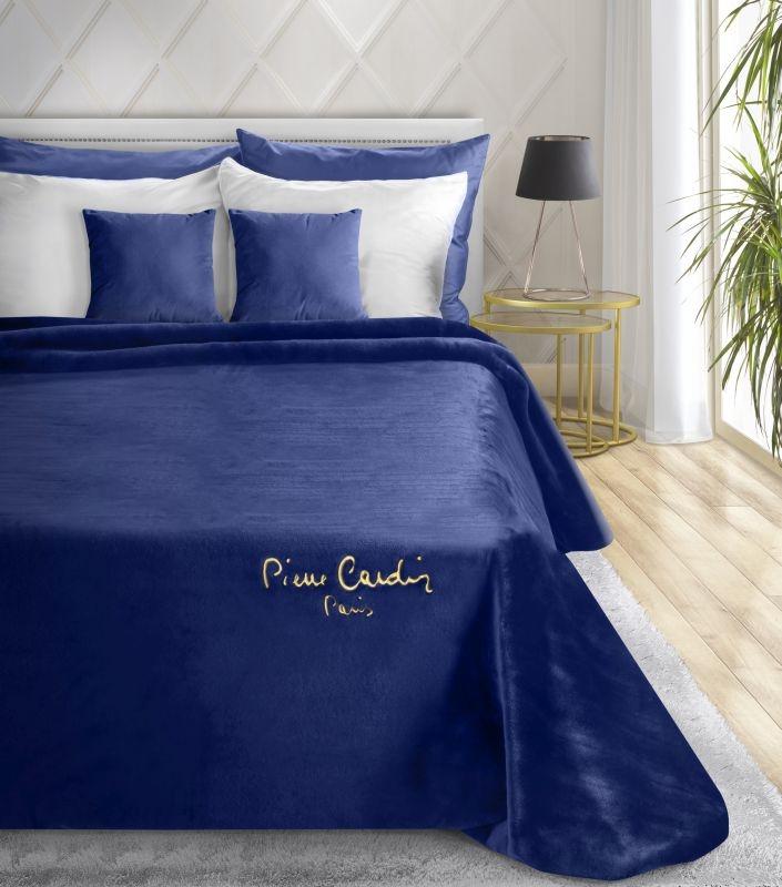 Patura Clara Pierre Cardin Albastru inchis, 220 x 240 cm imagine