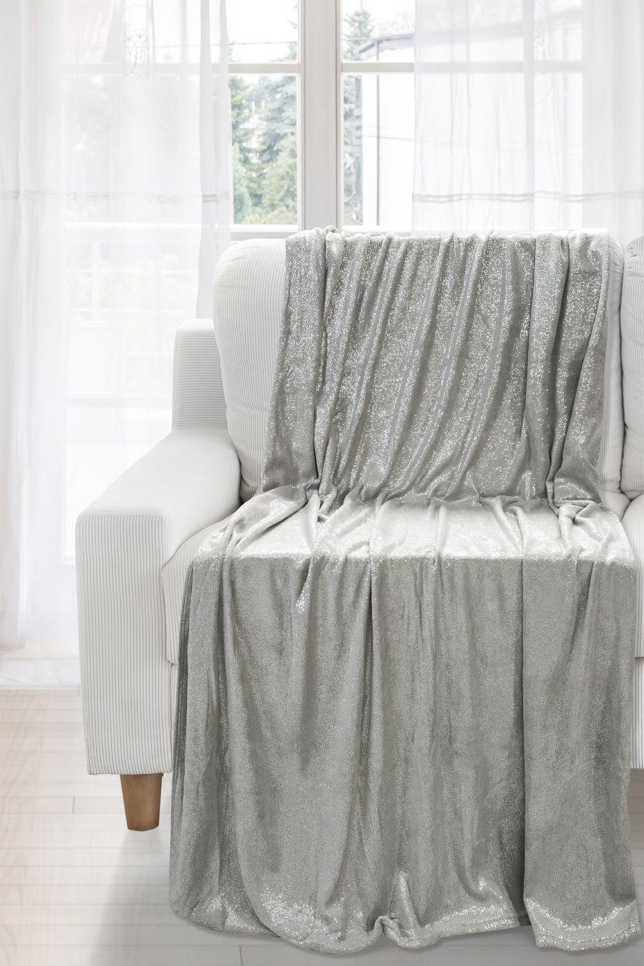Patura Daisy Grey / Silver 150 x 200 cm