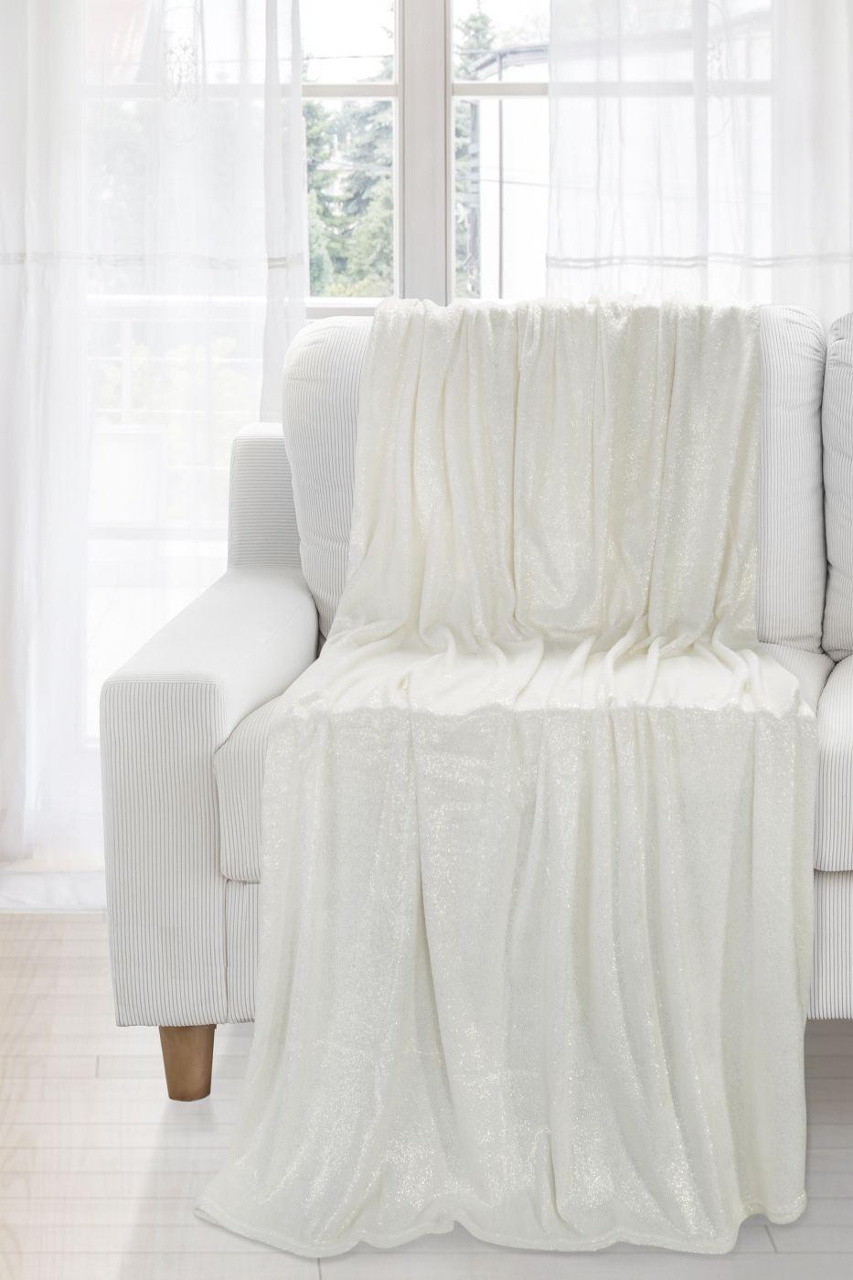 Patura Daisy White / Silver 150 x 200 cm