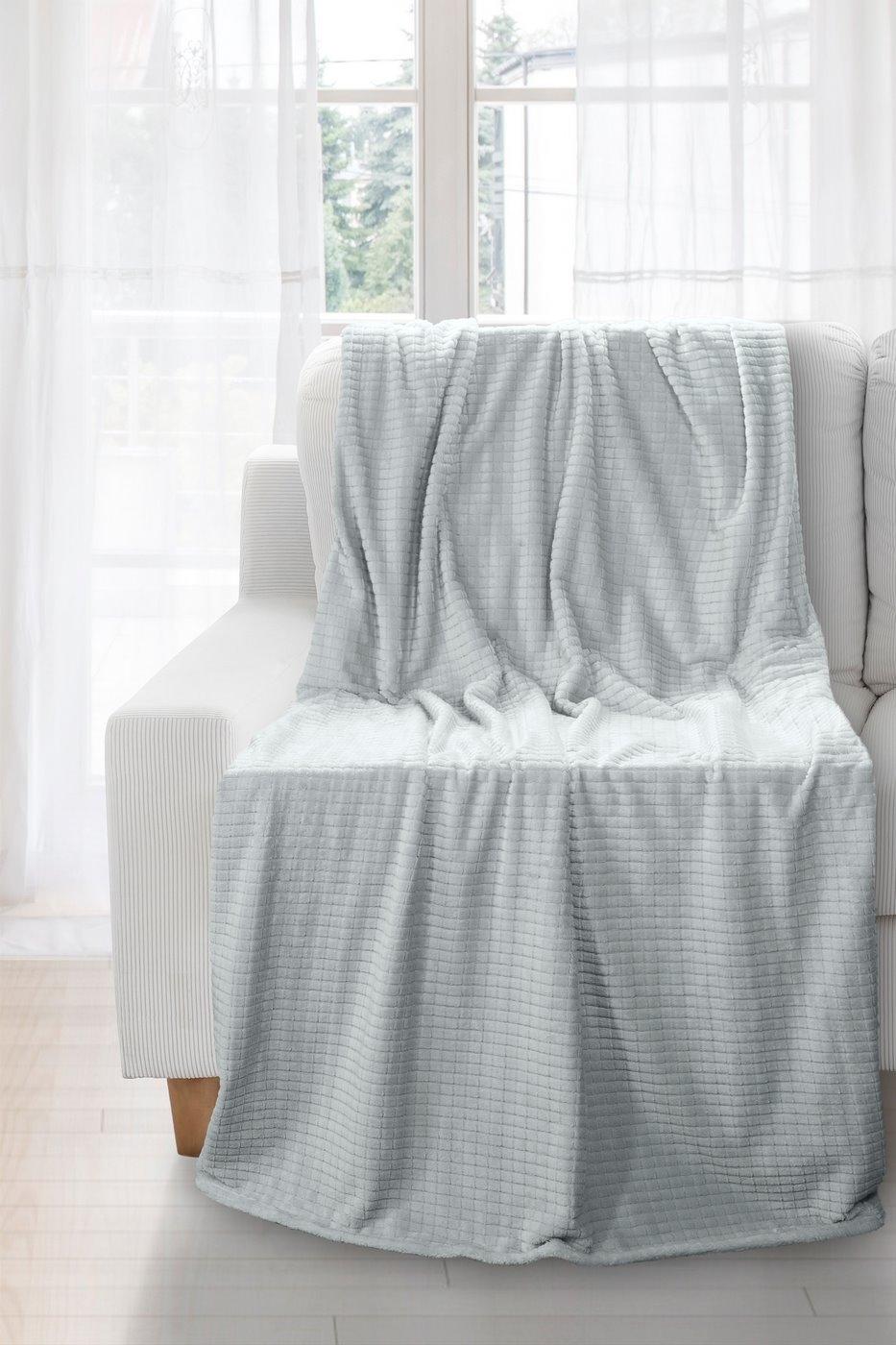 Patura Hugo Grey 150 x 200 cm