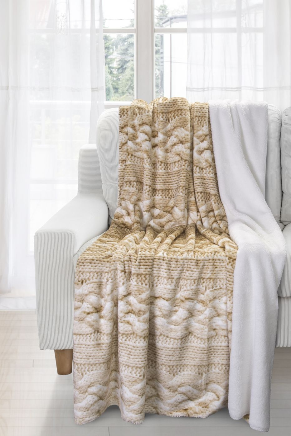 Patura Komfort Beige 170 x 210 cm