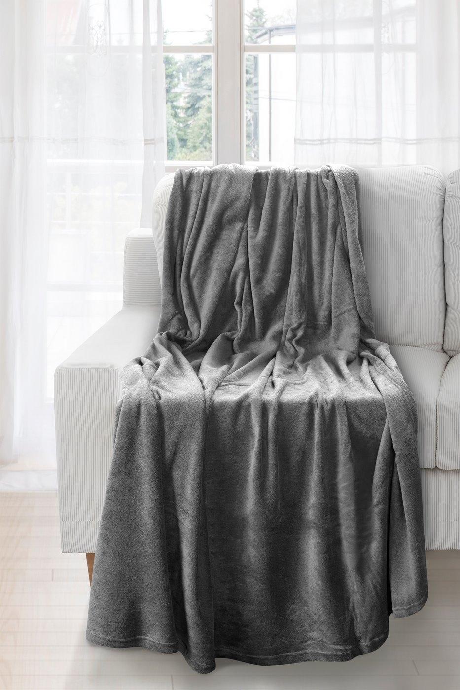 Patura Olivia Dark Grey 150 x 200 cm
