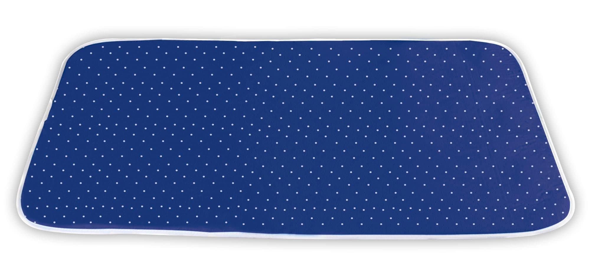 Patura pentru calcat cu strat superior din bumbac, Steam Albastru, L100xl65 cm poza