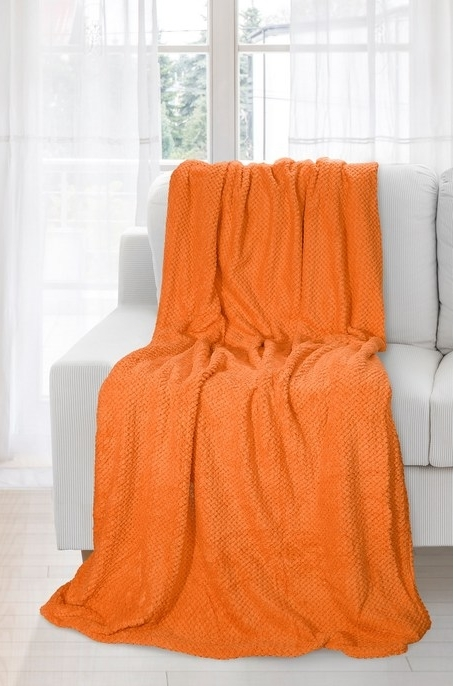 Patura Ricky Orange 150 x 200 cm
