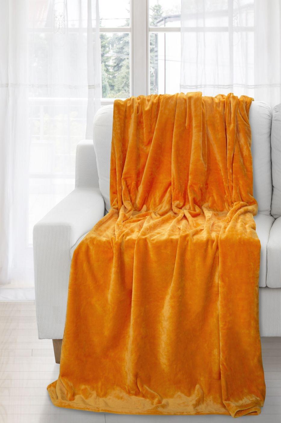 Patura Soft Orange 150 x 200 cm