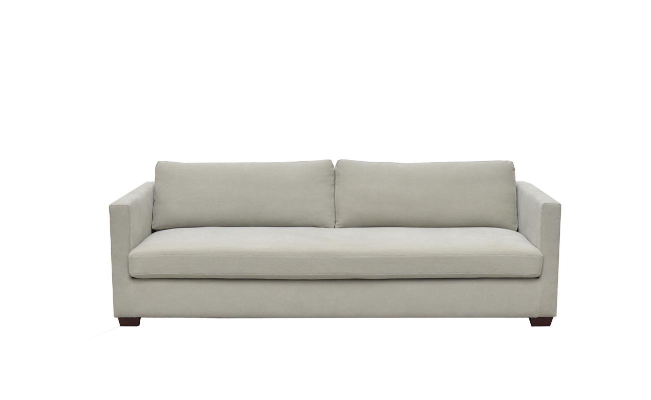 Canapea fixa 3 locuri Pauline Pastel Green