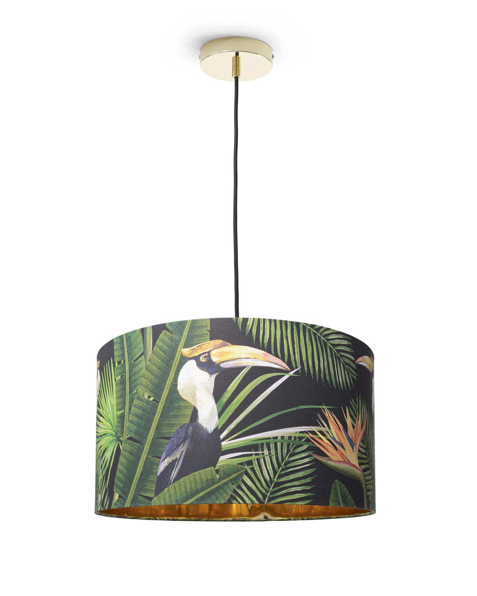 Lustra Birds of Paradise, ø55xh30 cm
