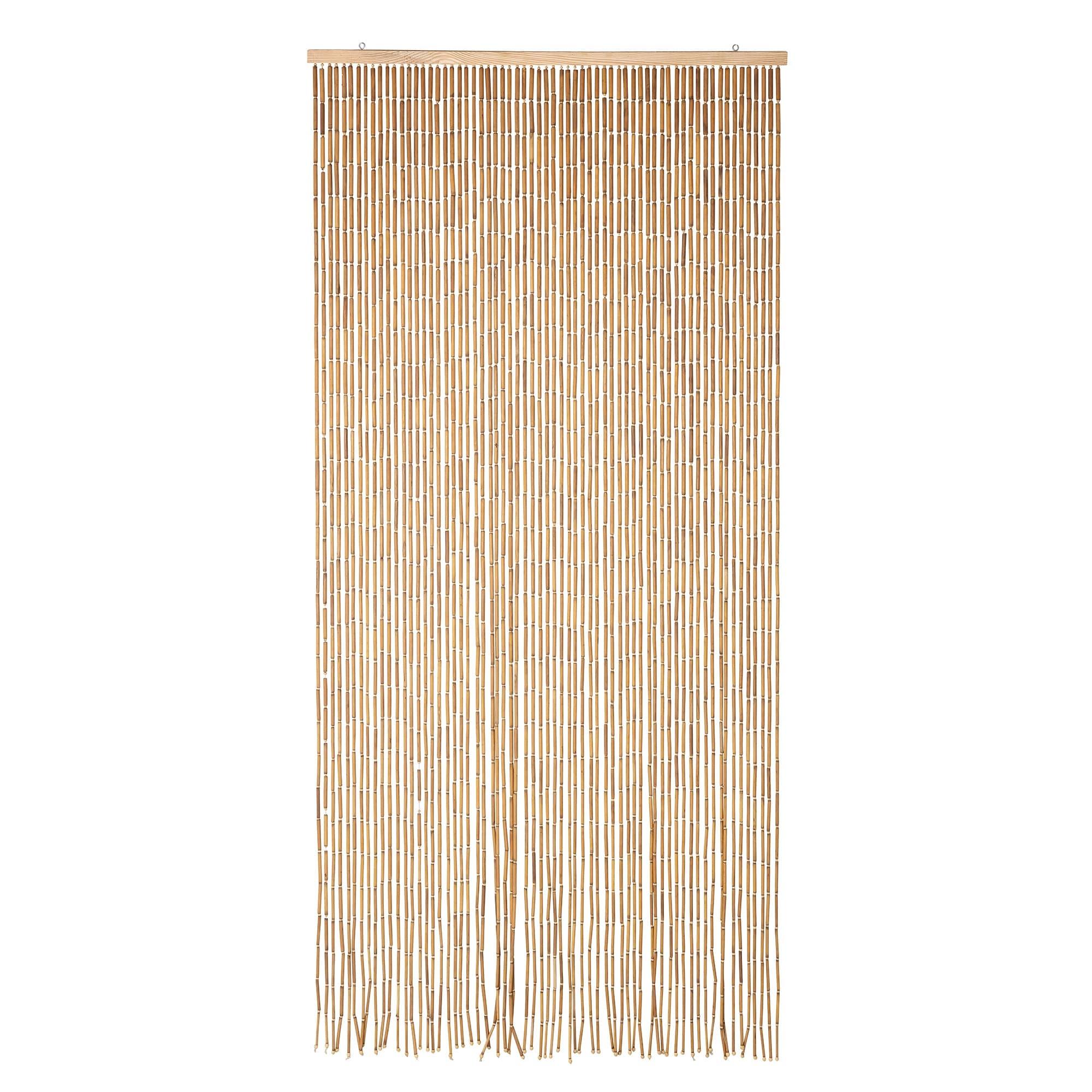 Perdea din bambus, Calista Natur, 90 x 200 cm imagine