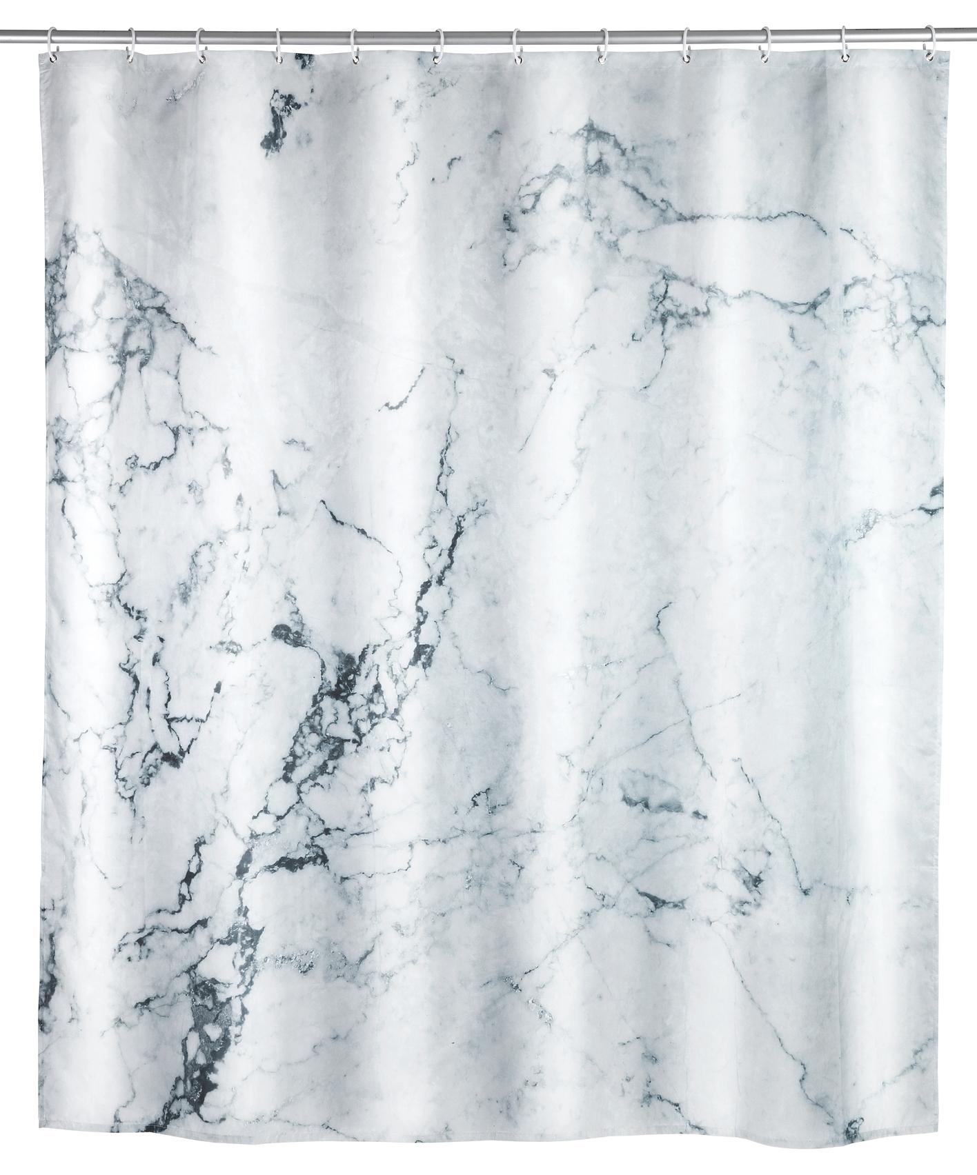 Poza Perdea dus din poliester, Onyx Multicolor, 180 x 200 cm
