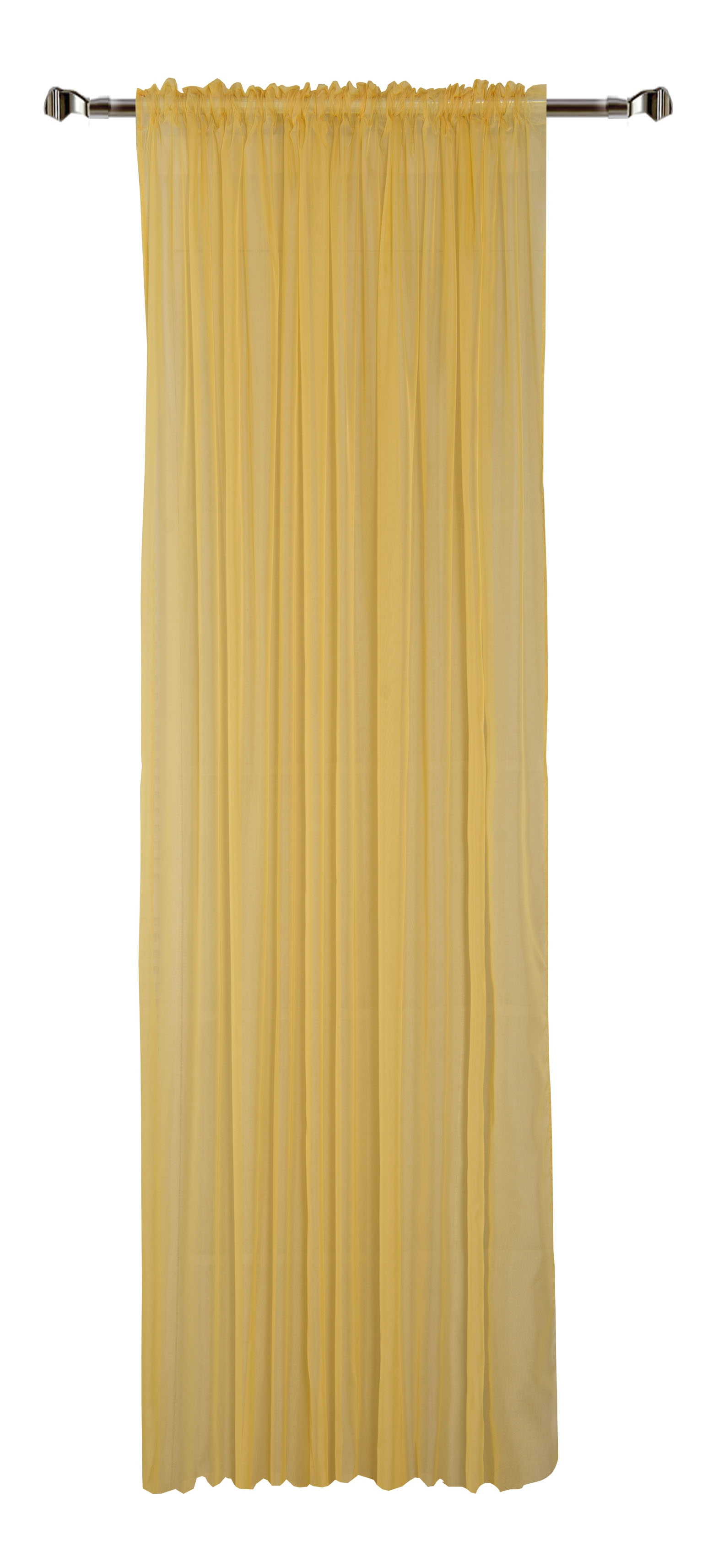 Perdea Home Voile-18 Yellow 300 x 280 cm 1 bucata