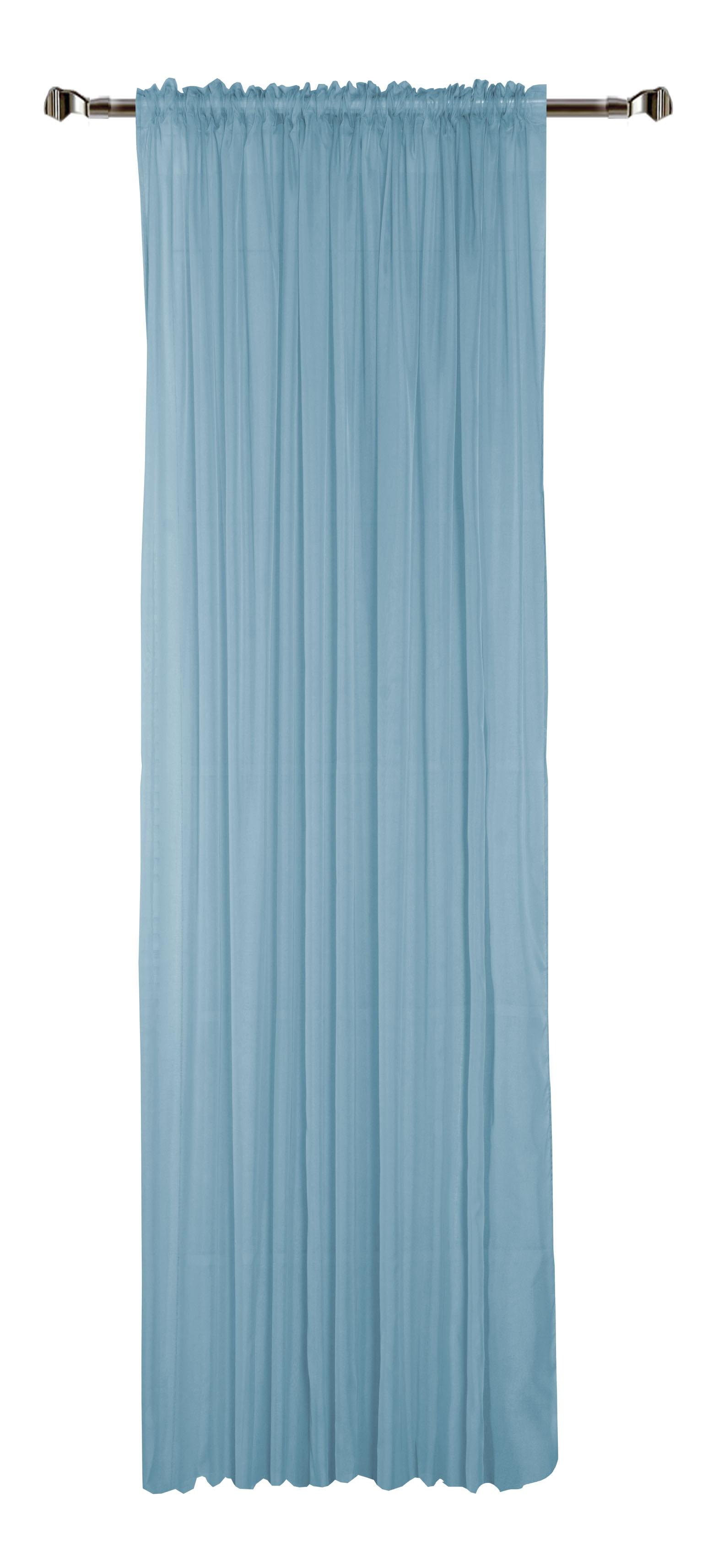 Perdea Home Voile-49 Blue 300 x 280 cm 1 bucata