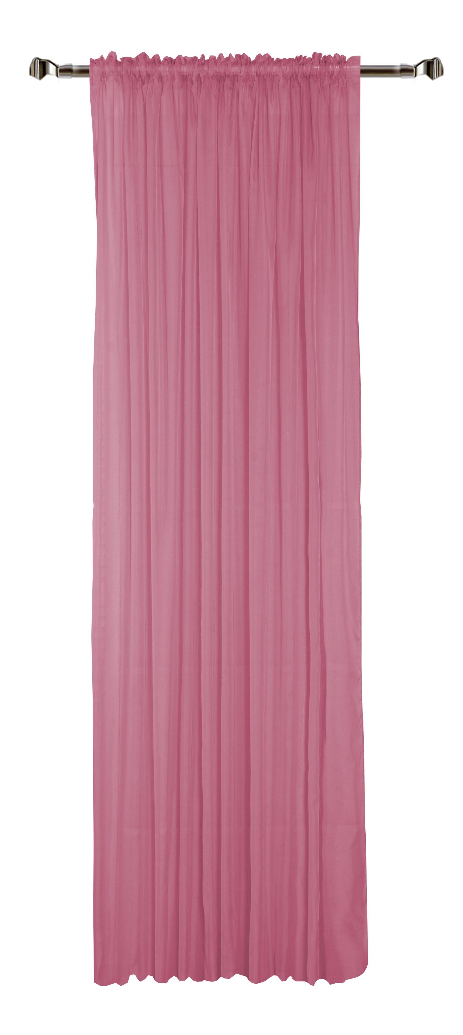 Perdea Home Voile-58 Pink 300 x 280 cm 1 bucata