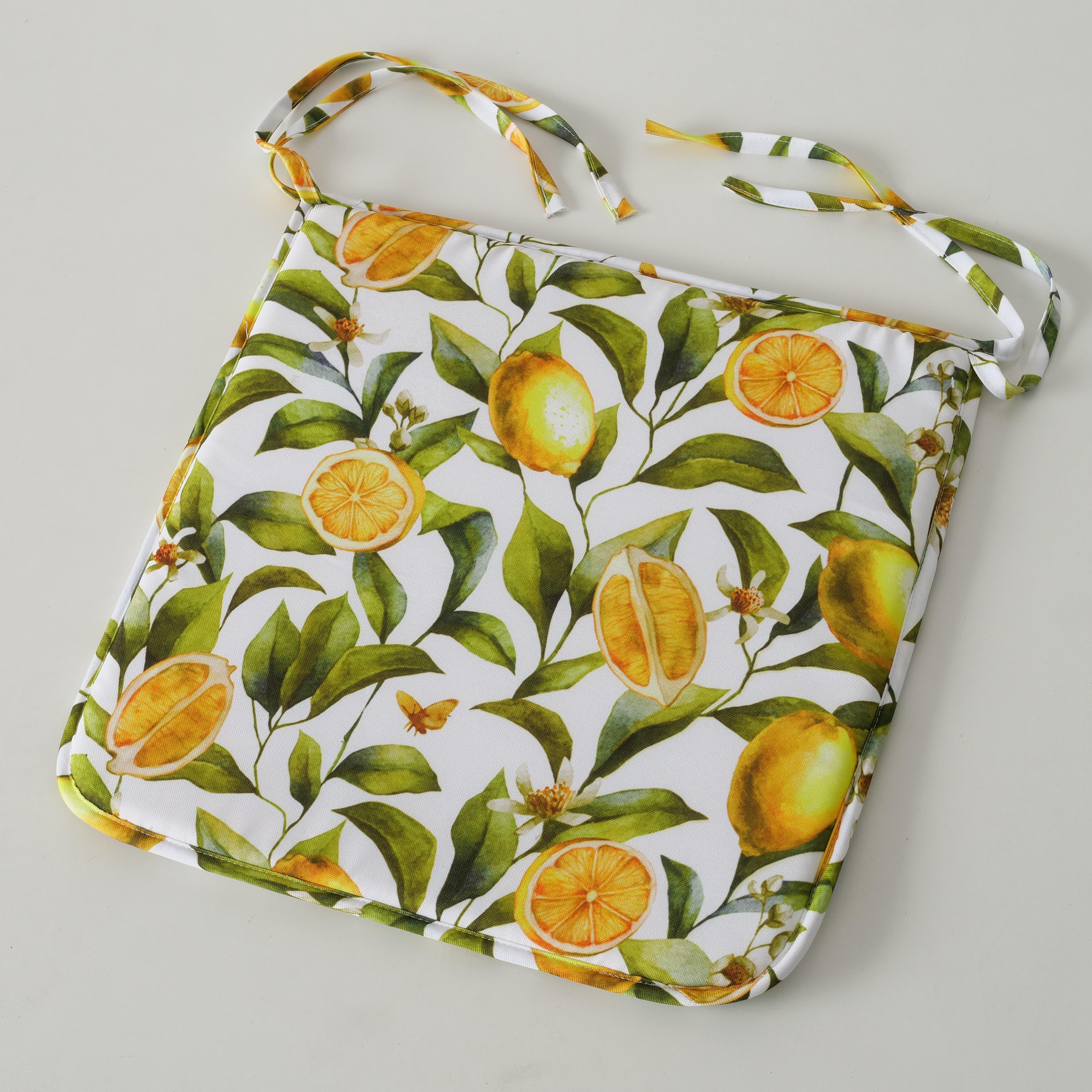 Perna de sezut decorativa Zitrone Multicolor, L45xl45 cm poza