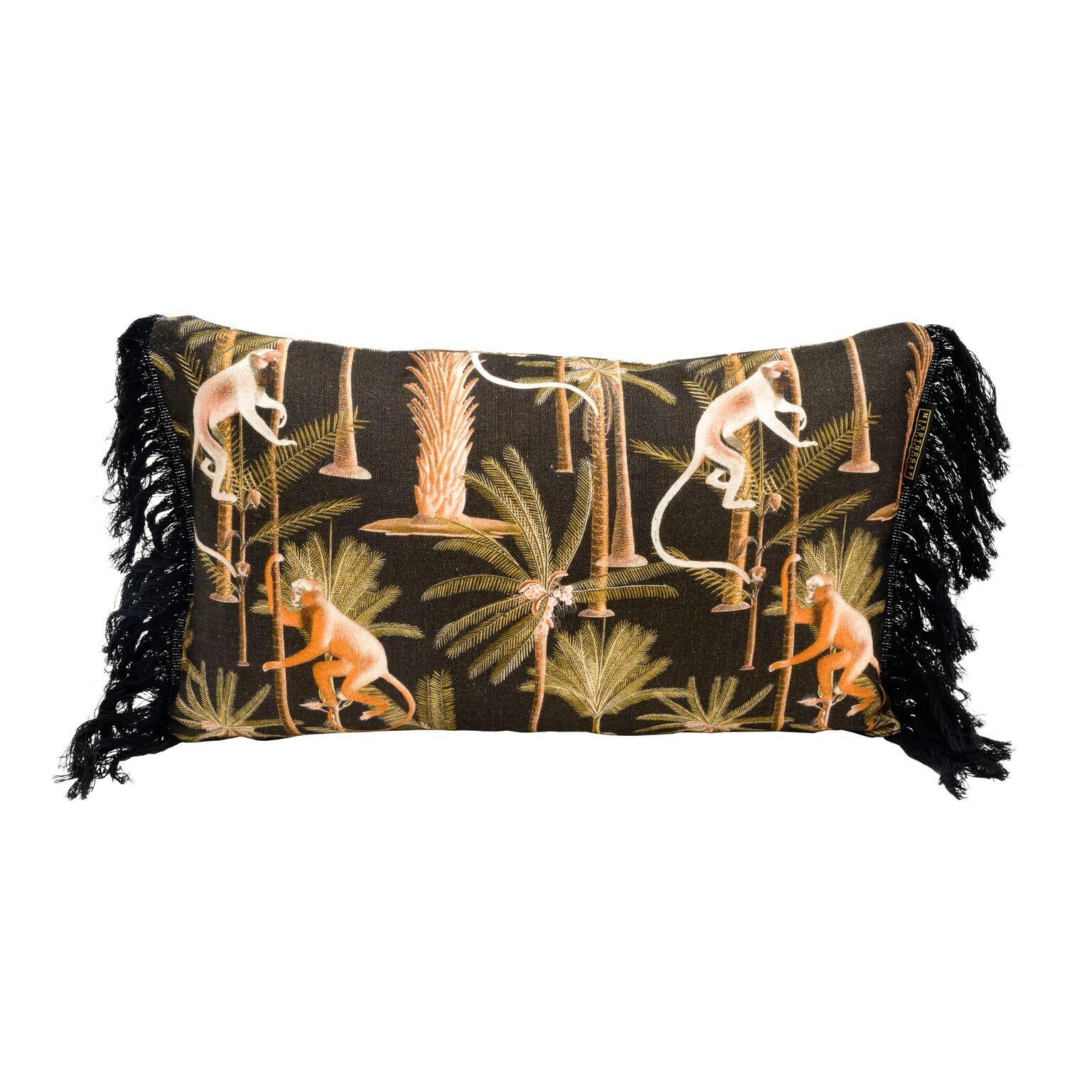 Perna decorativa Barbados Anthracite, L50xl30 cm poza