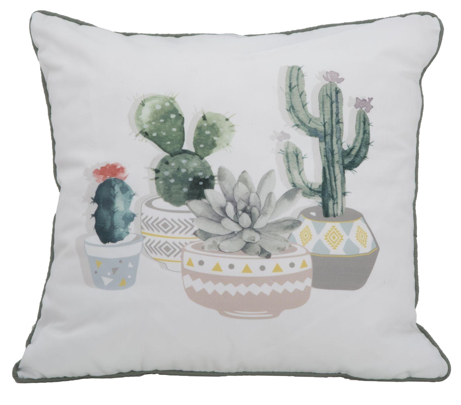 Perna decorativa Cactus B Multicolor, L45xl45 cm poza