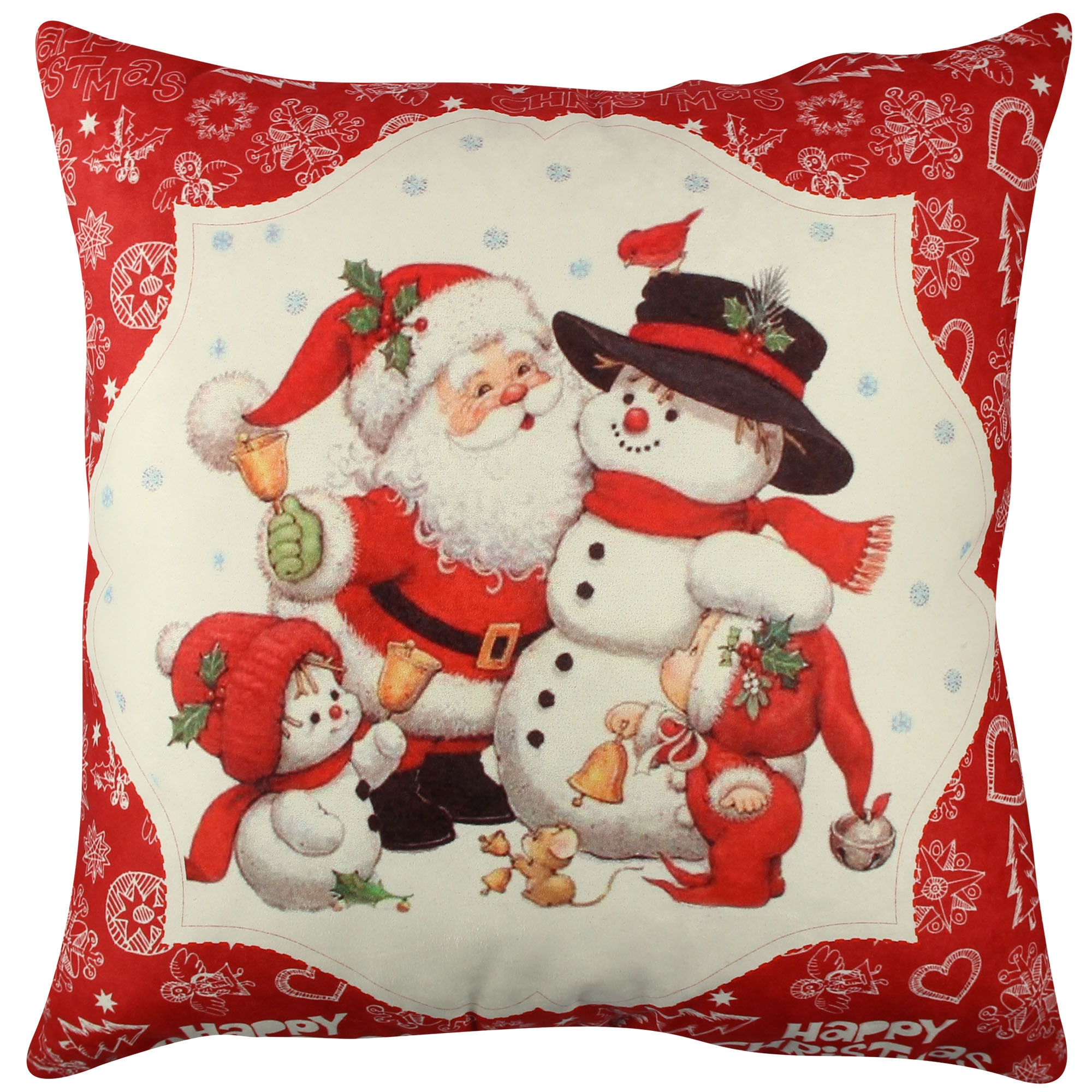 Perna decorativa Christmas Multicolor, L43xl43 cm