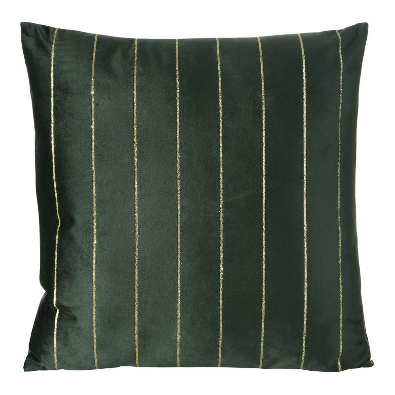 Fata perna decorativa Nite Velvet Verde, 45 x 45 cm