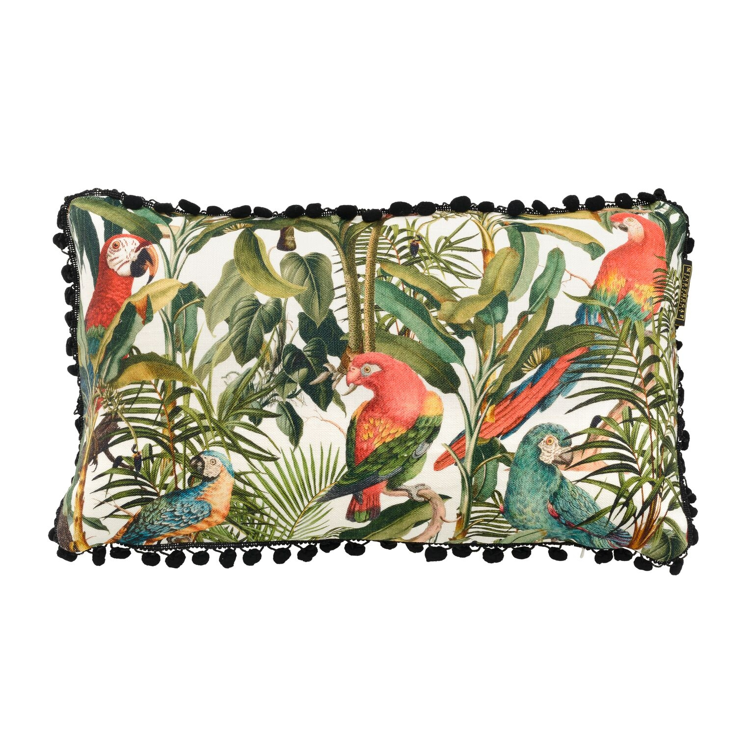 Perna decorativa Parrots of Brasil Multicolour, L50xl30 cm imagine