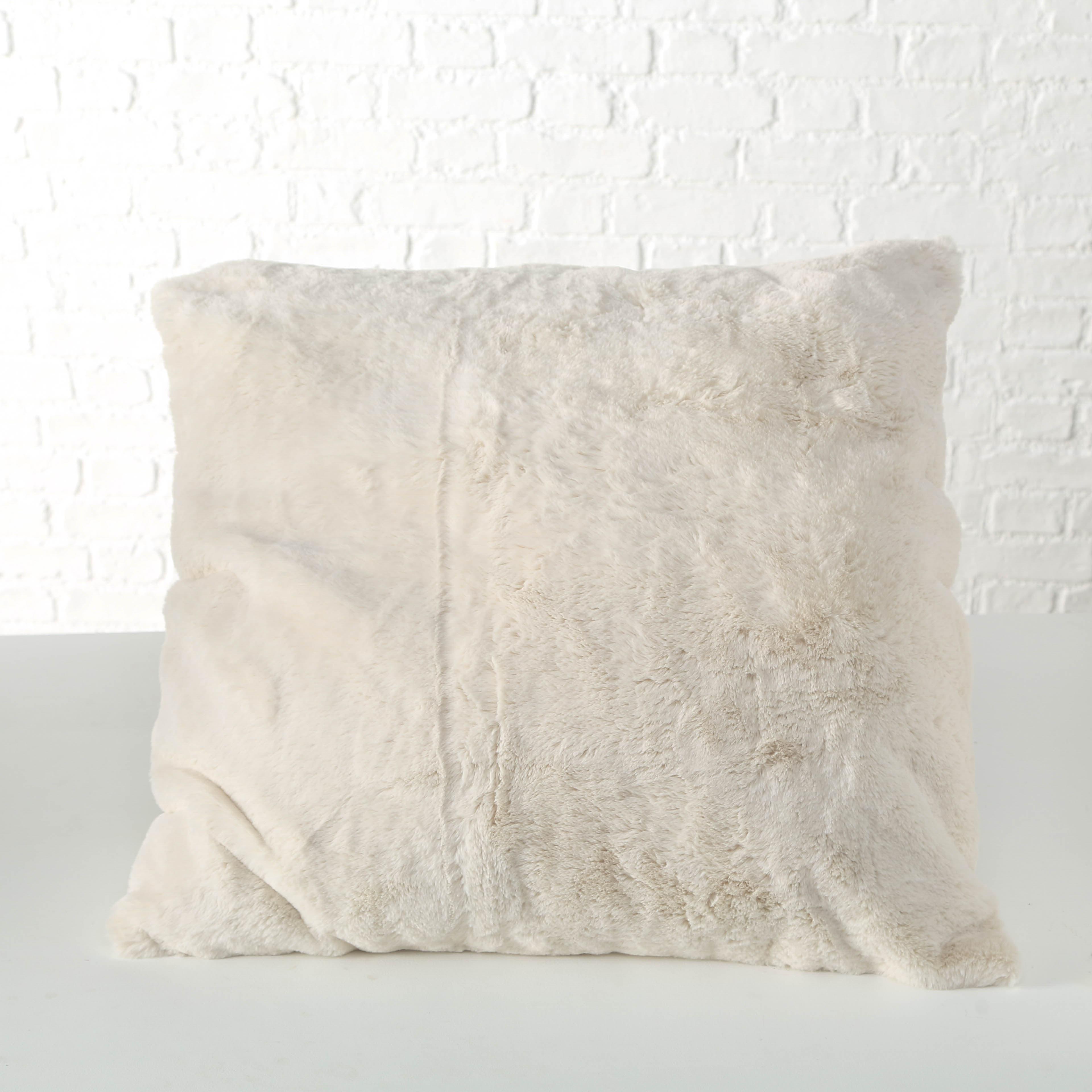 Perna decorativa Storan Crem, L75xl75 cm