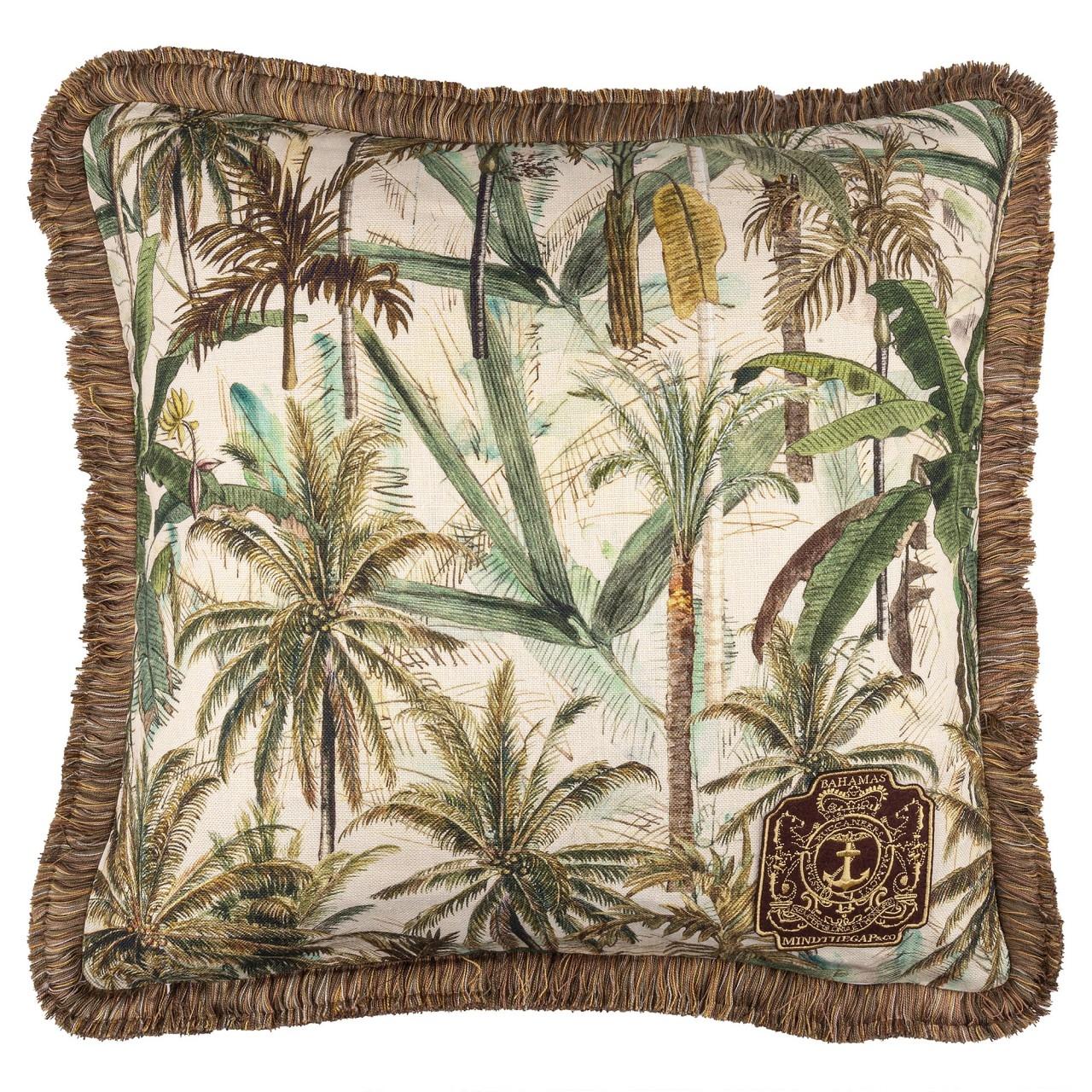 Perna decorativa The Jungle Multicolor, L50xl50 cm somproduct.ro