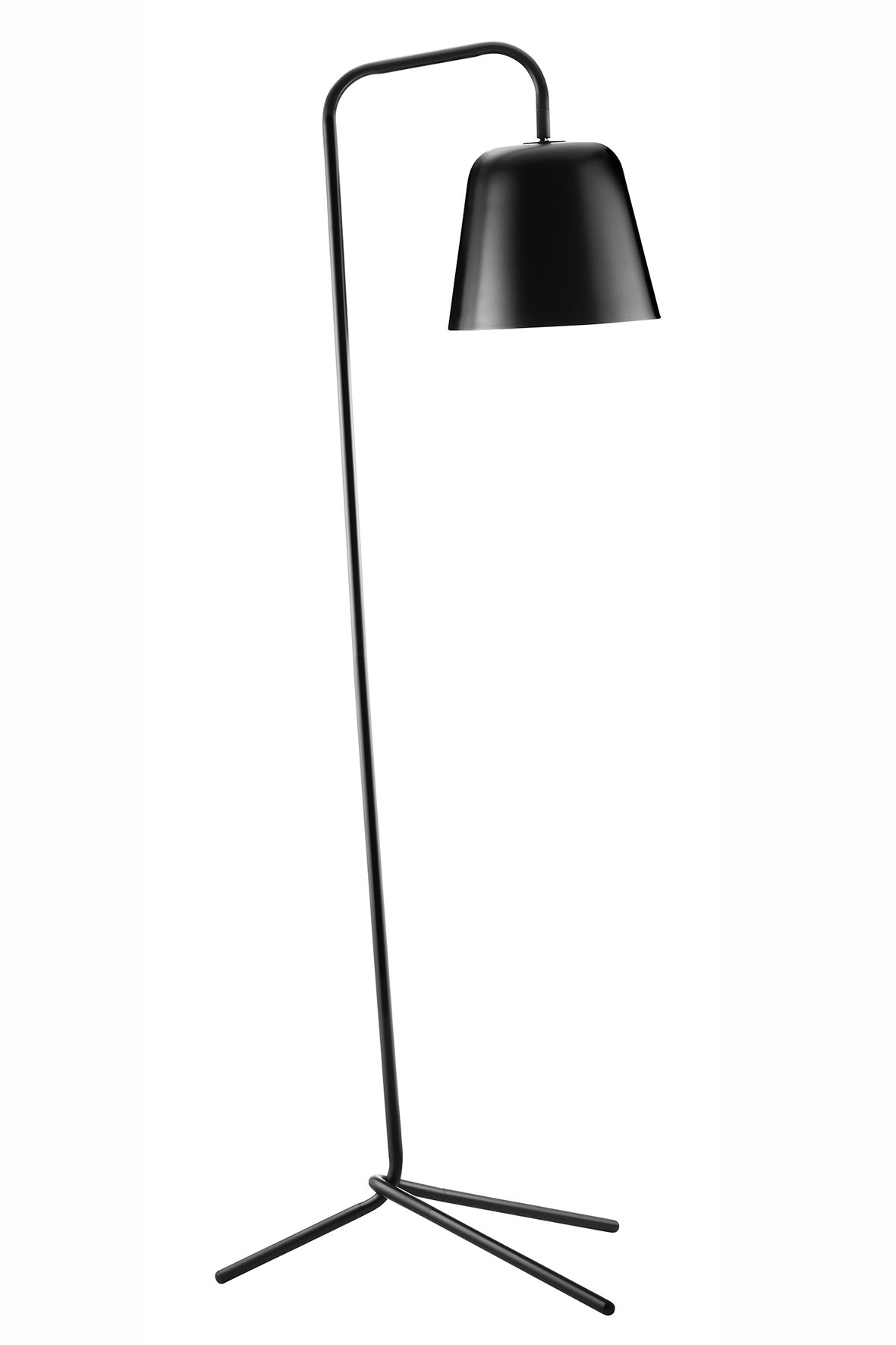 Lampadar Pied Black