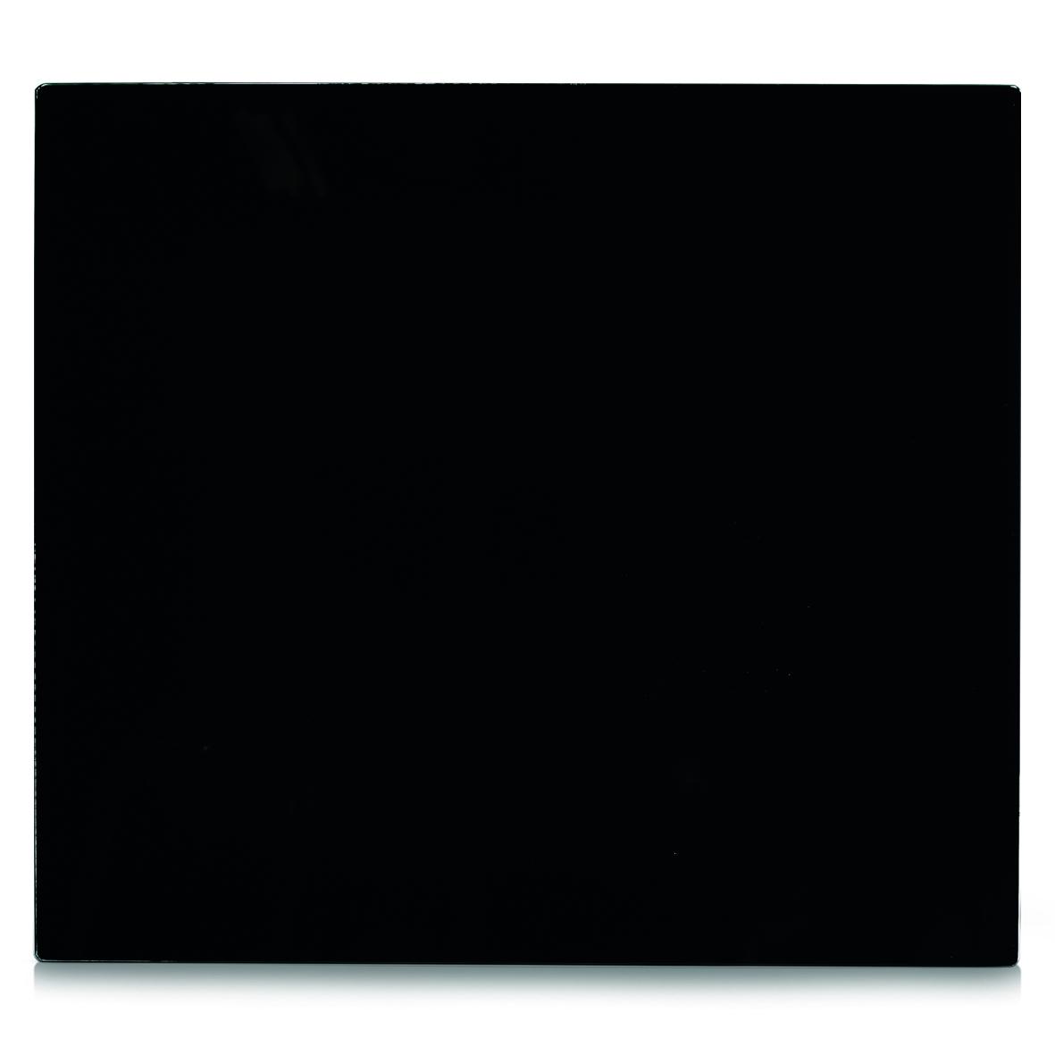 Placa din sticla protectie perete/plita, Black, l56xA50 cm poza