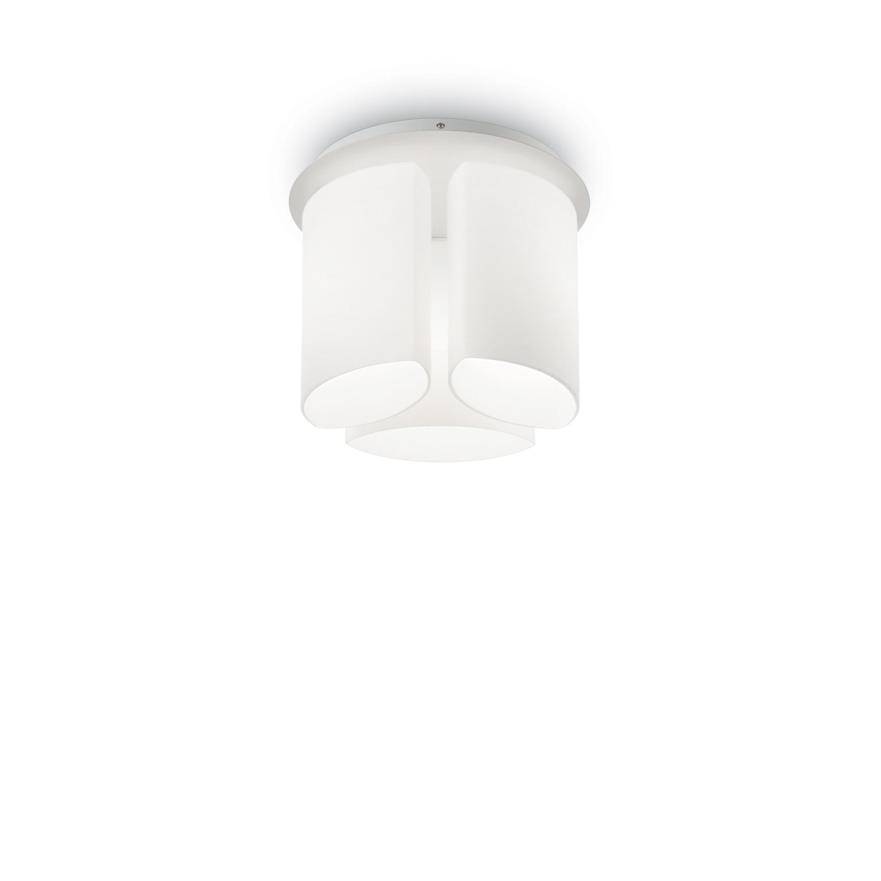 Plafoniera Almond PL3 White