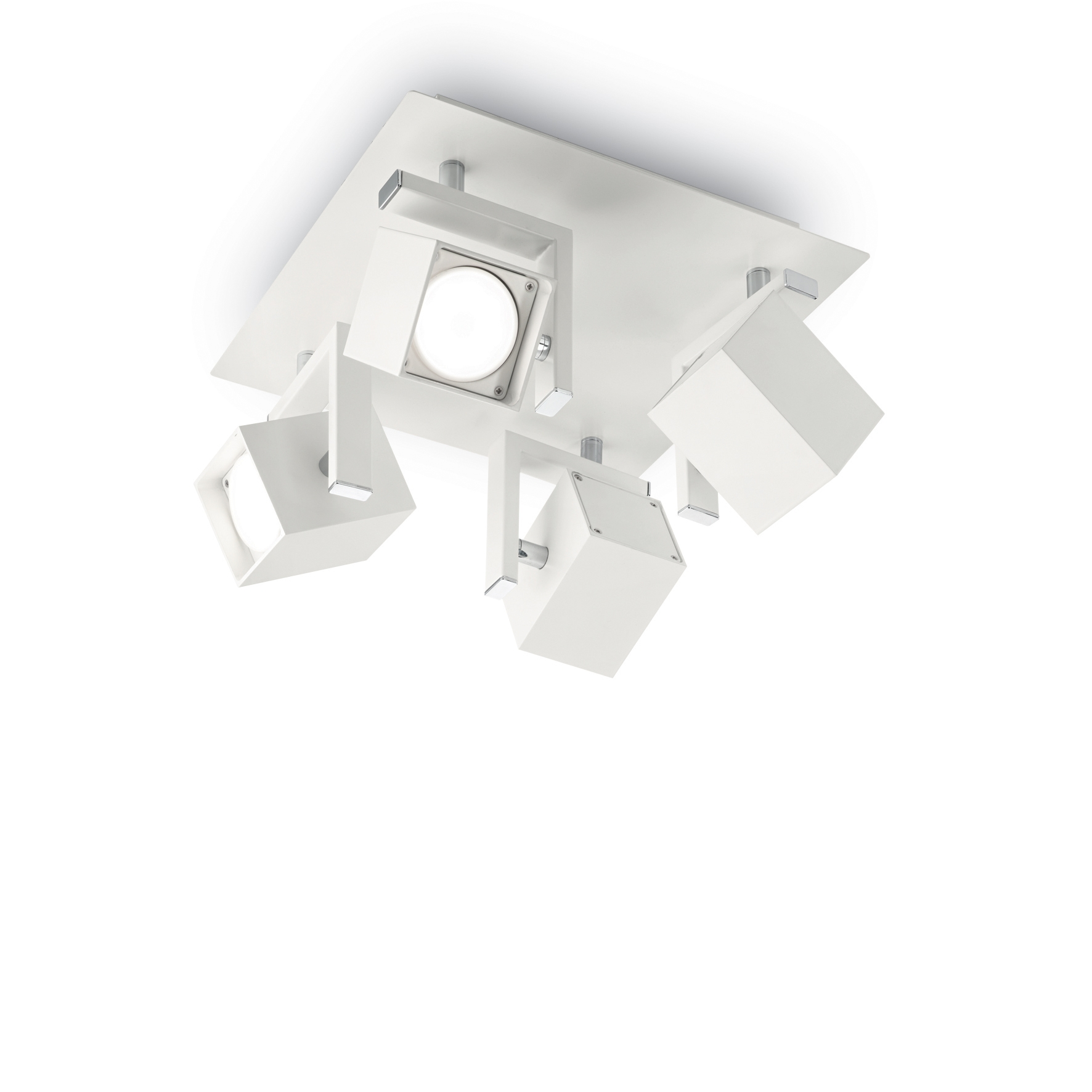 Plafoniera Mouse PL4 White