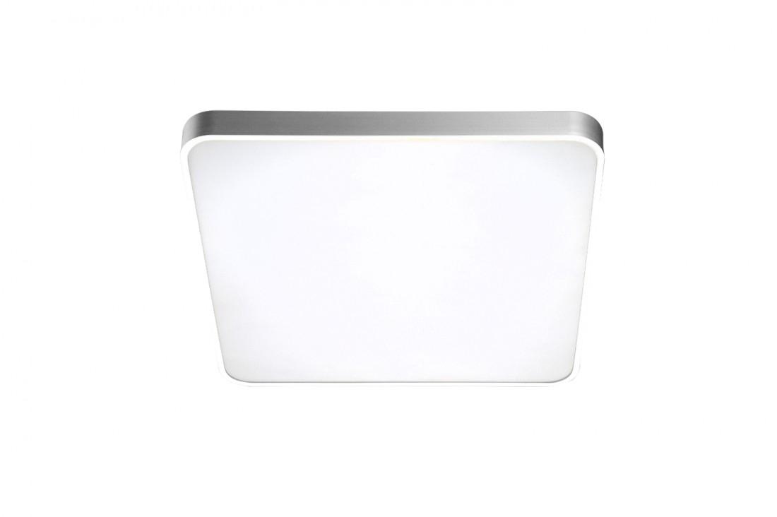 Plafoniera Quadro Argintiu
