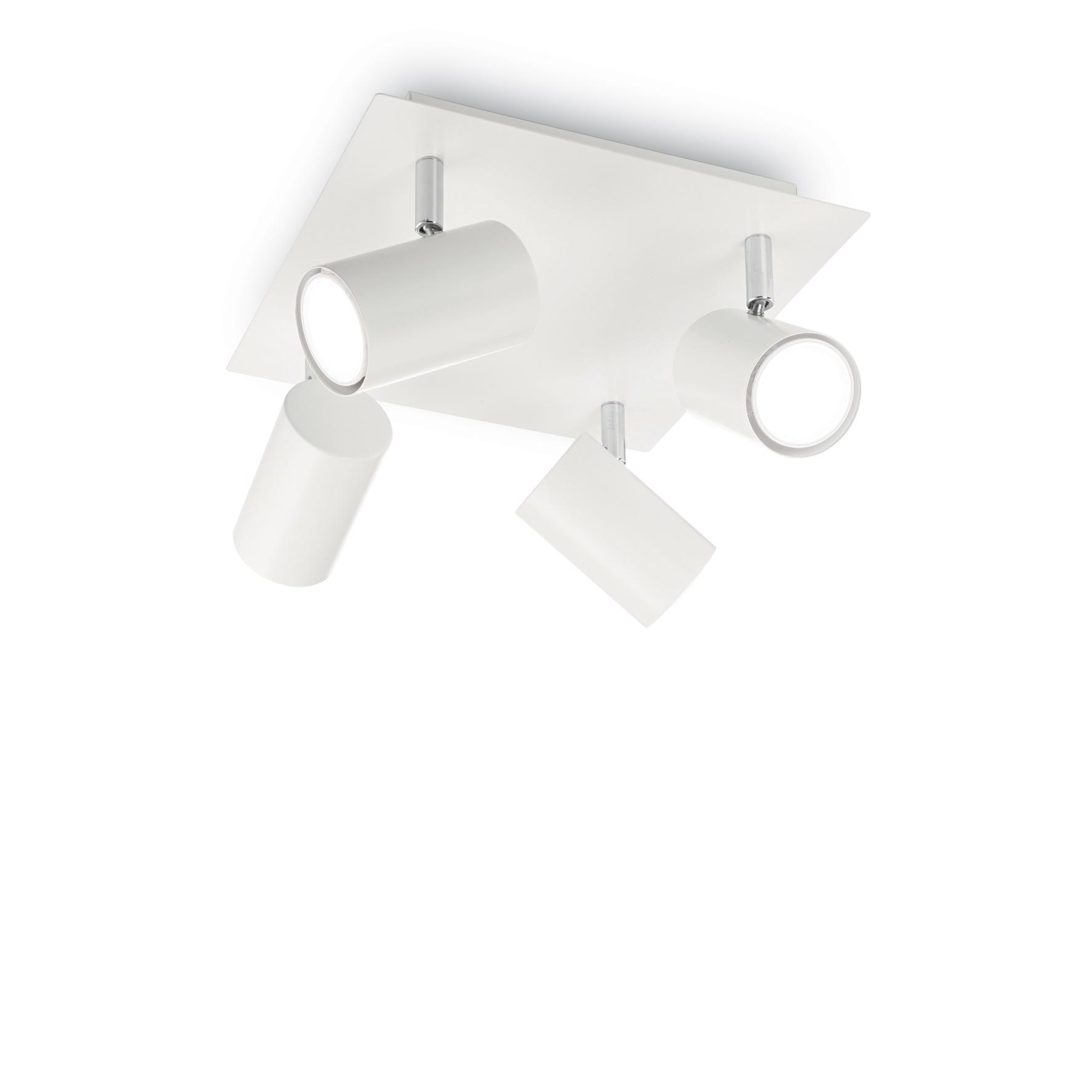Plafoniera Spot PL4 White