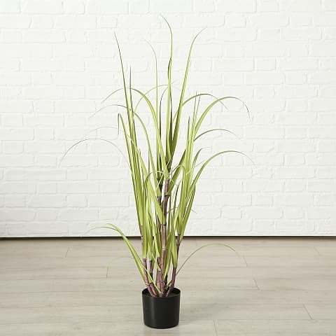 Poza Planta artificiala in ghiveci Jule Sugarcane Verde, H180 cm