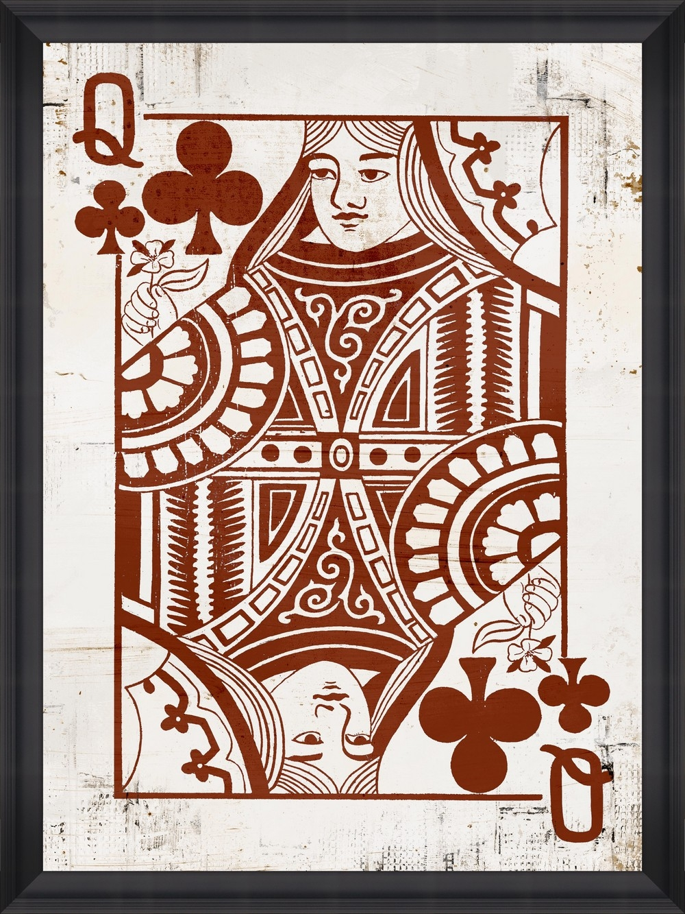 Tablou Framed Art Play Cards I din categoria Tablouri Inramate