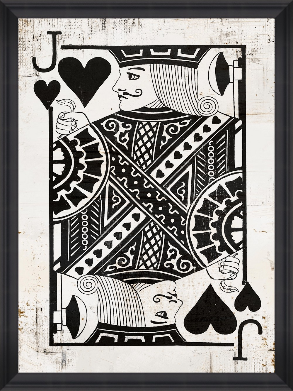 Tablou Framed Art Play Cards II din categoria Tablouri Inramate