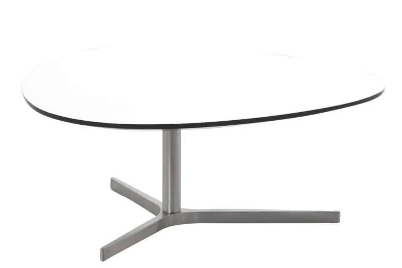 Masa de cafea din MDF Plector-B White, L84xl77xh34,3 cm