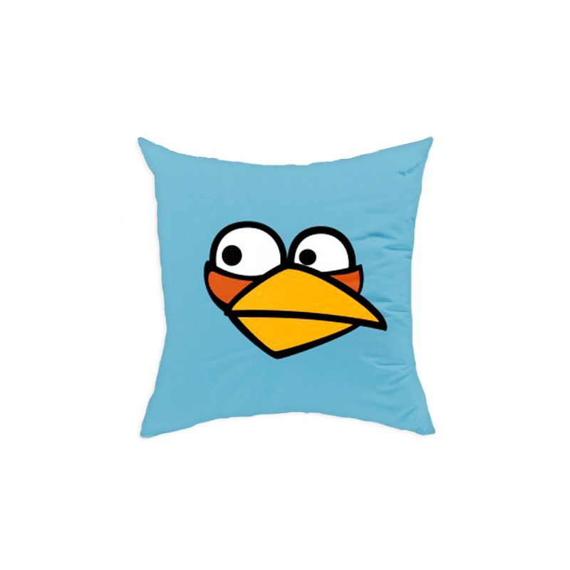 Perna decorativa Angry Birds AB016 Blue, L40xl40 cm poza