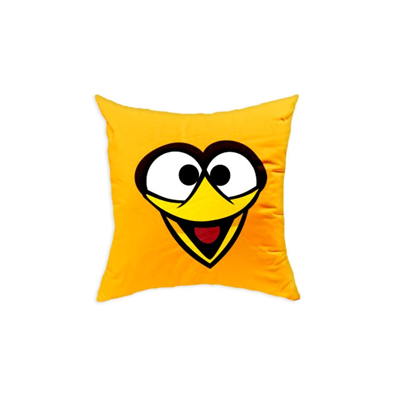 Perna decorativa Angry Birds AB016 Yellow, L40xl40 cm
