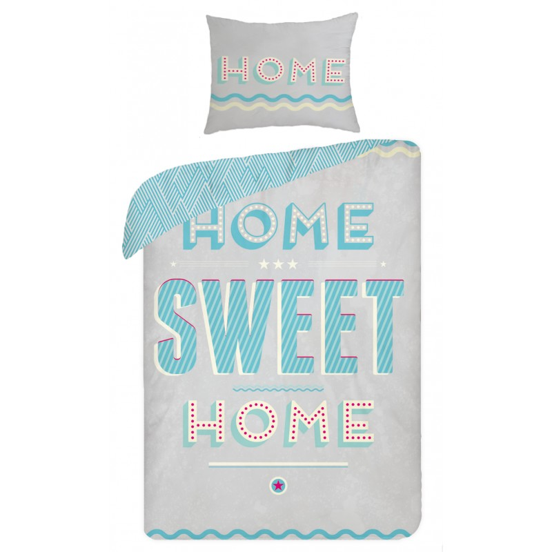 Lenjerie de pat copii Cotton Sweet Home SCI290 imagine