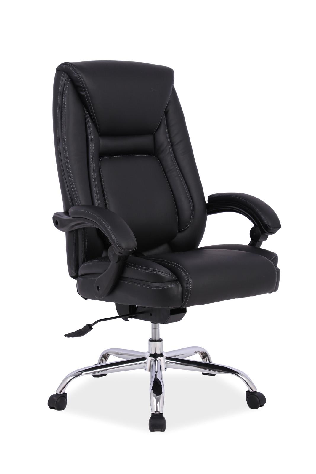 Scaun de birou directorial Premier Black somproduct.ro
