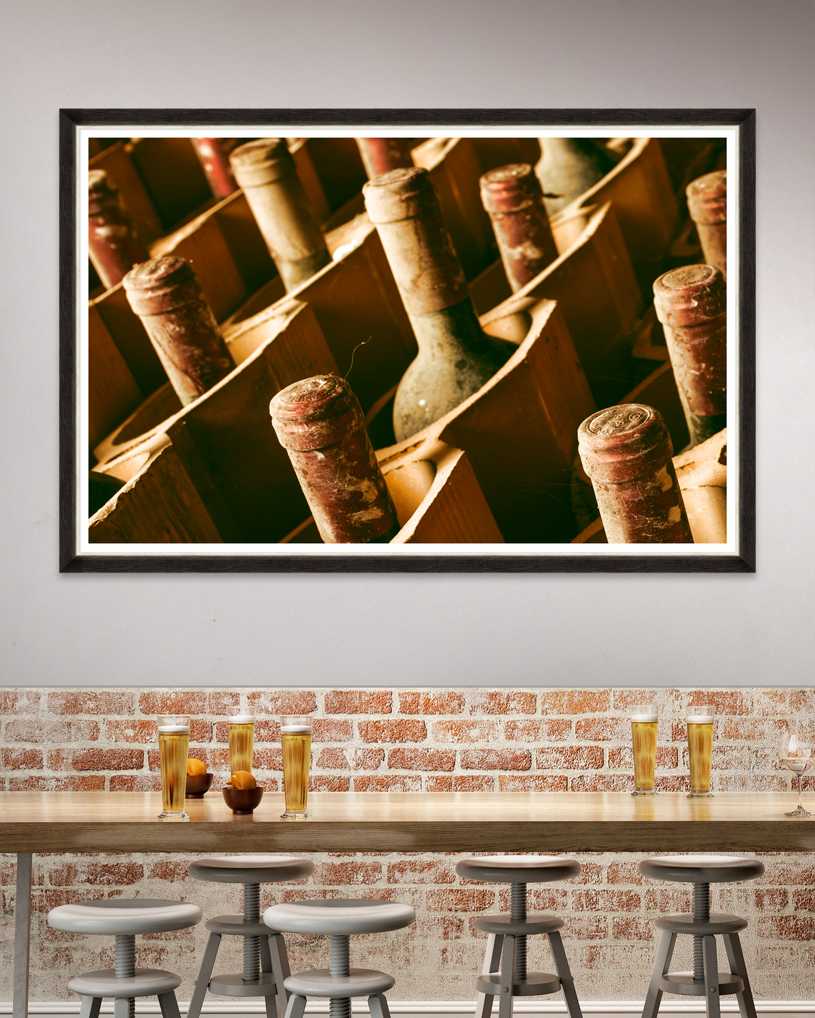 Tablou Framed Art Premium Wines