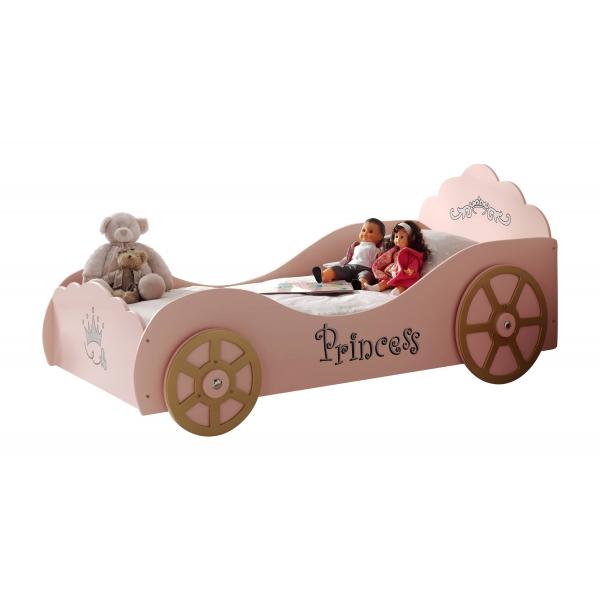 Pat din MDF pentru copii Princess Pinky
