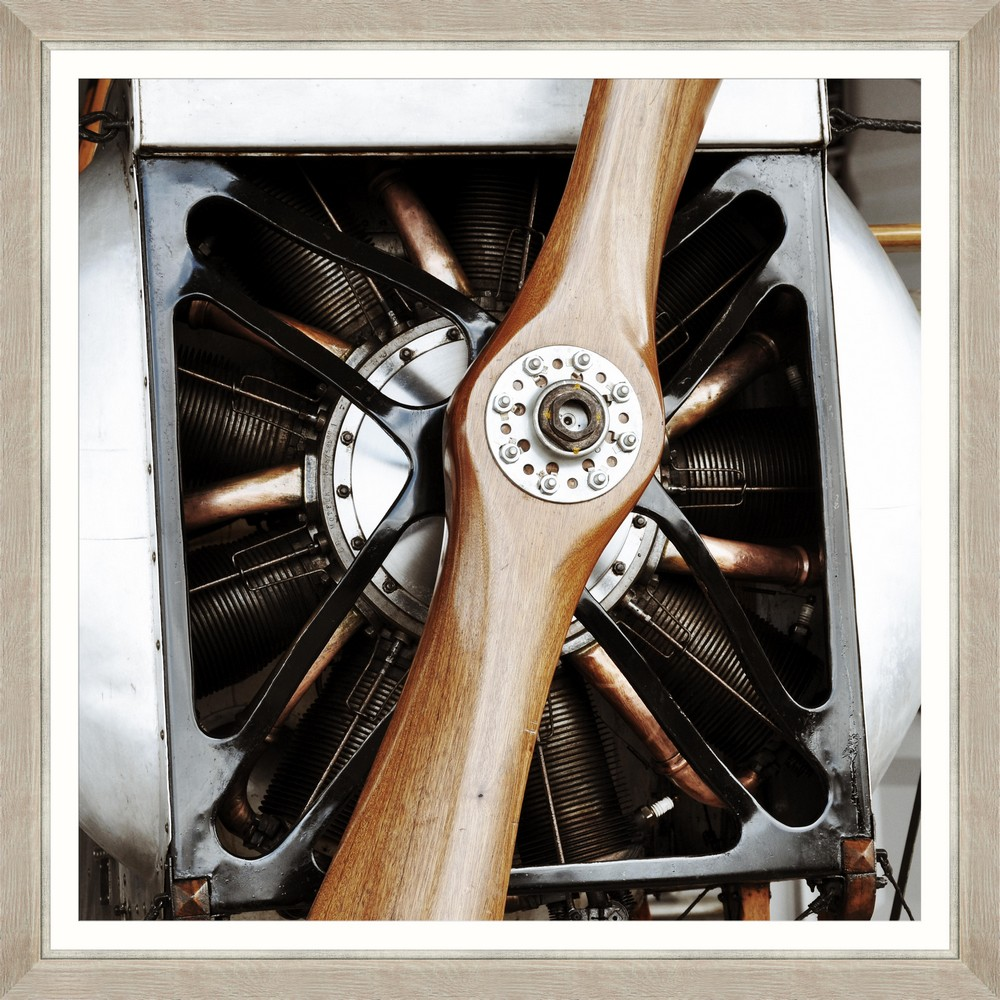 Tablou Framed Art Propeller Closeup I