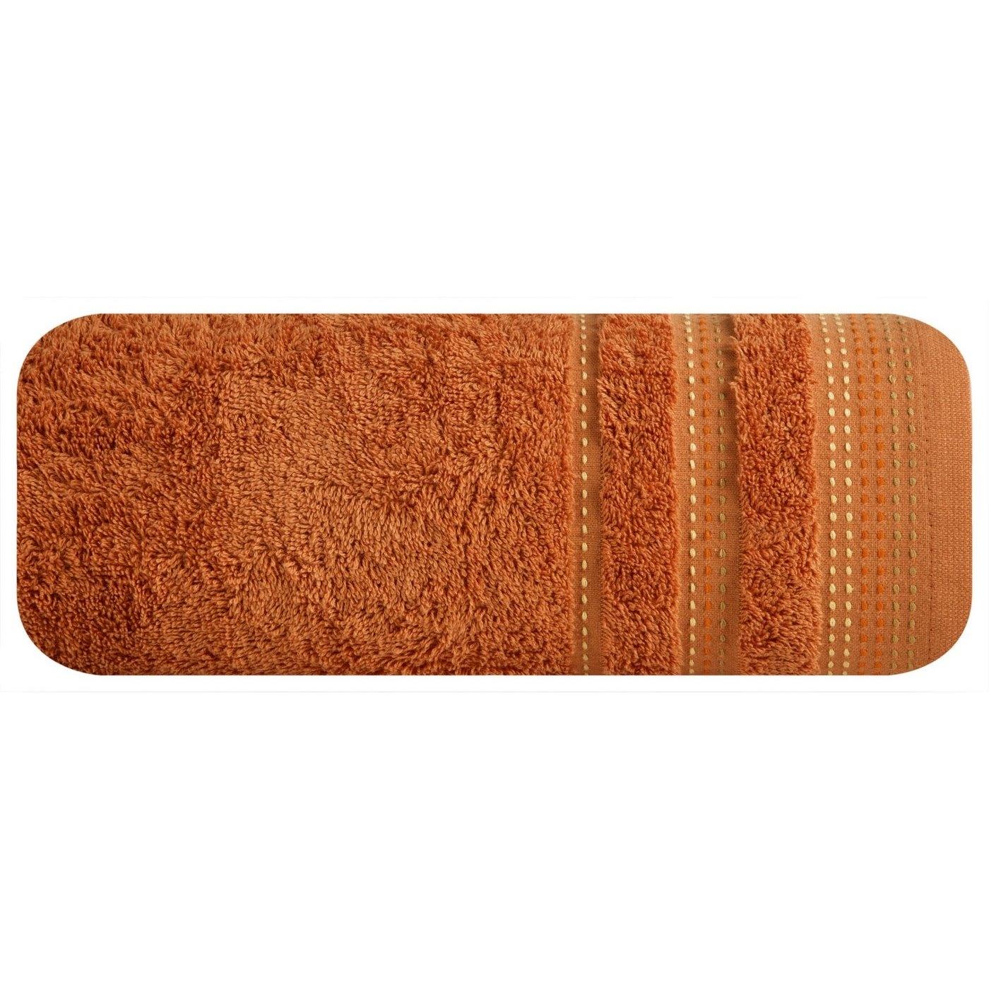Prosop baie din bumbac Paula Orange, 30 x 50 cm imagine